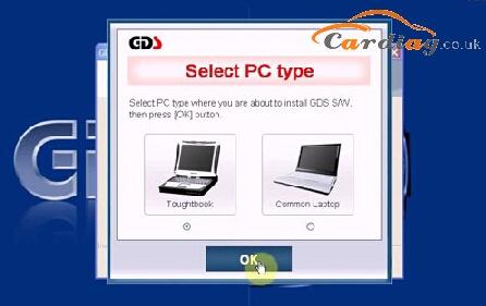 Select PC type