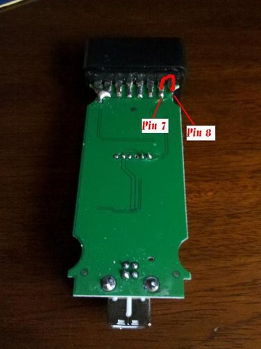 solder pin7 pin8 together