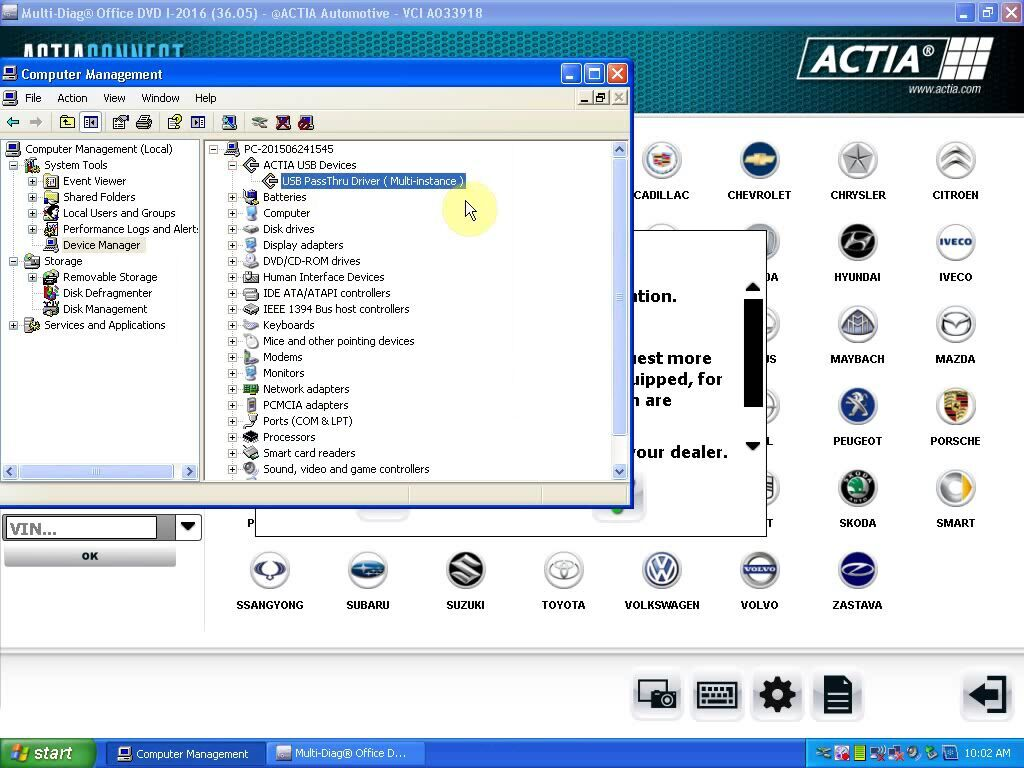 USB PassThru Driver