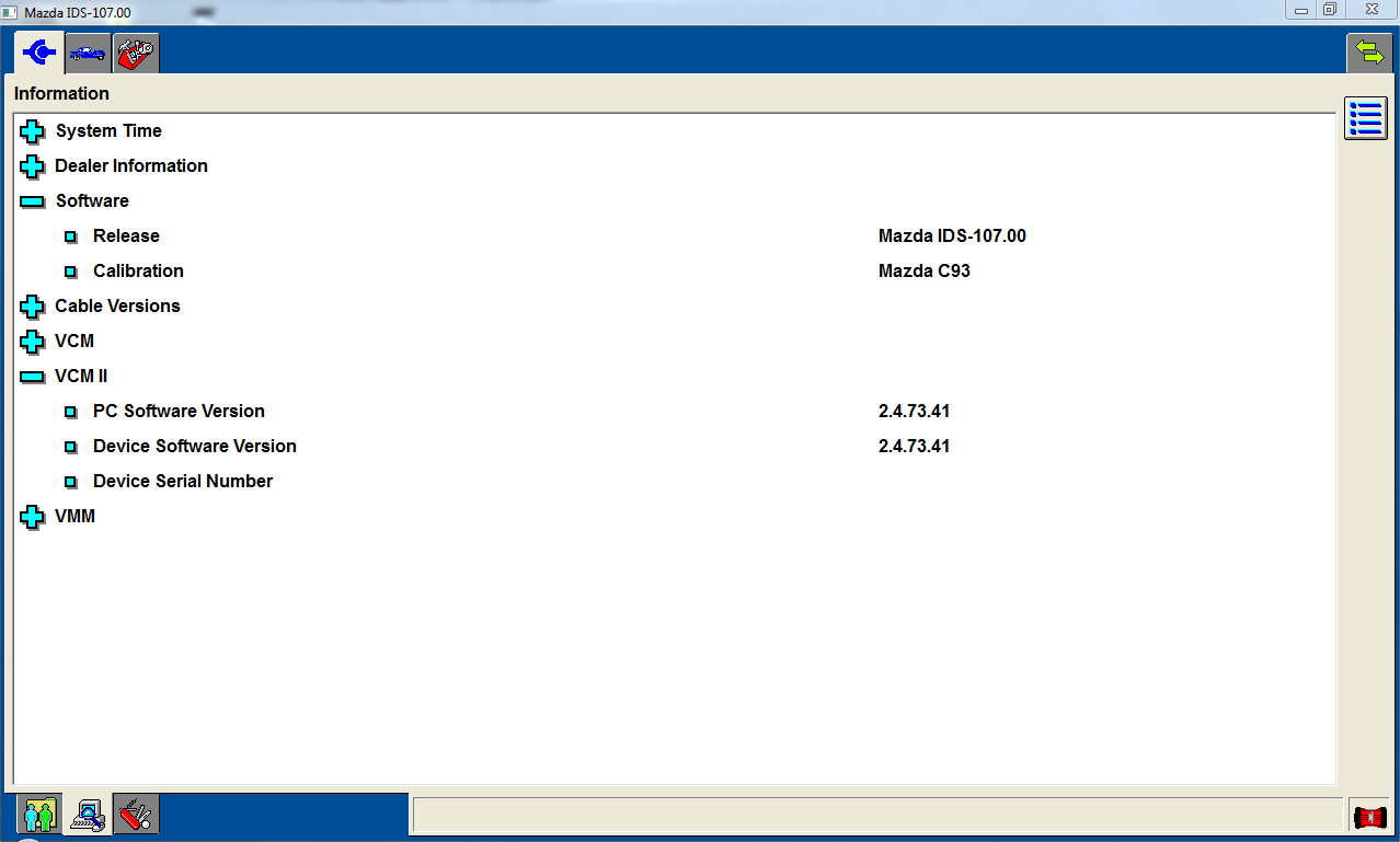 Mazda IDS v107 FREE Download