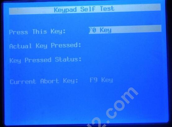 GM Tech 2 scan tool self test