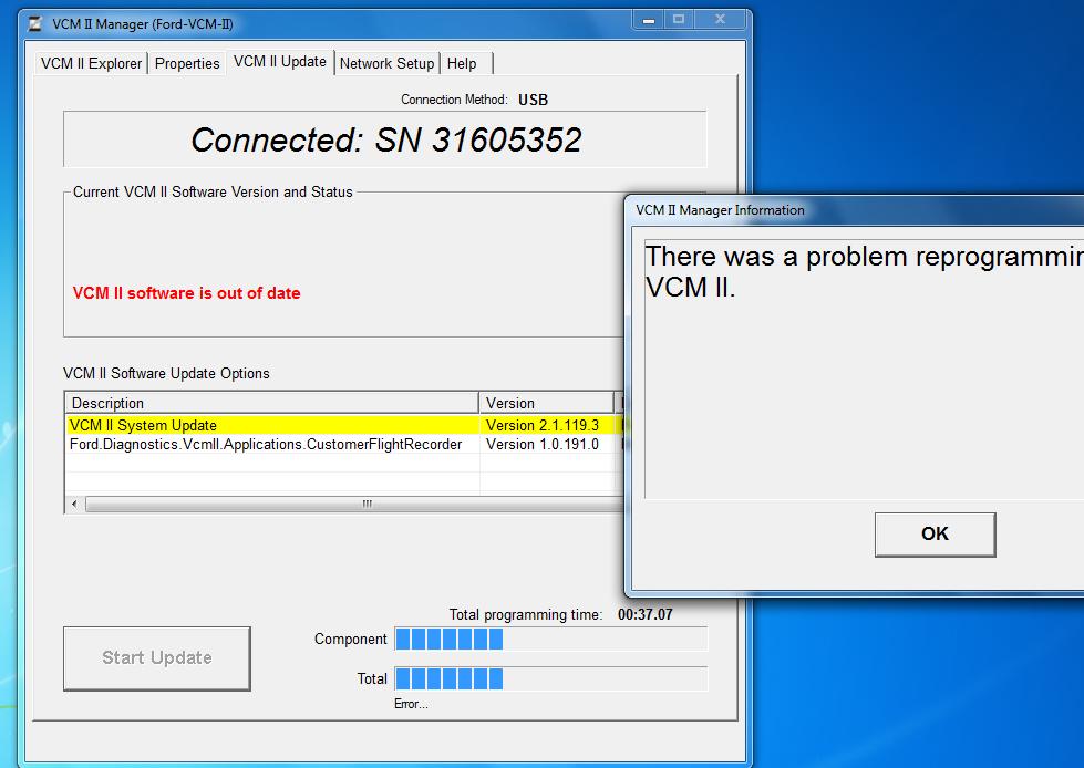 vcm-2-reprogramming-problem