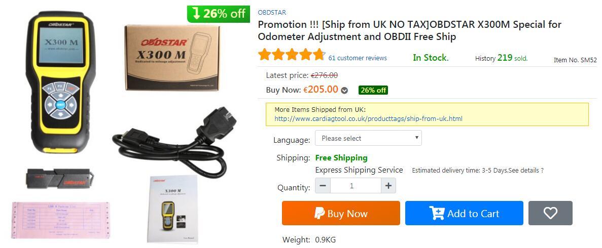 obdstar-x300m-best-price-mileage-collection -feedback