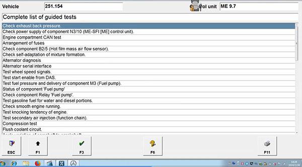 vxdiag-benz-c6-xentry-test-on-mercedes-benz-w251-r300-11