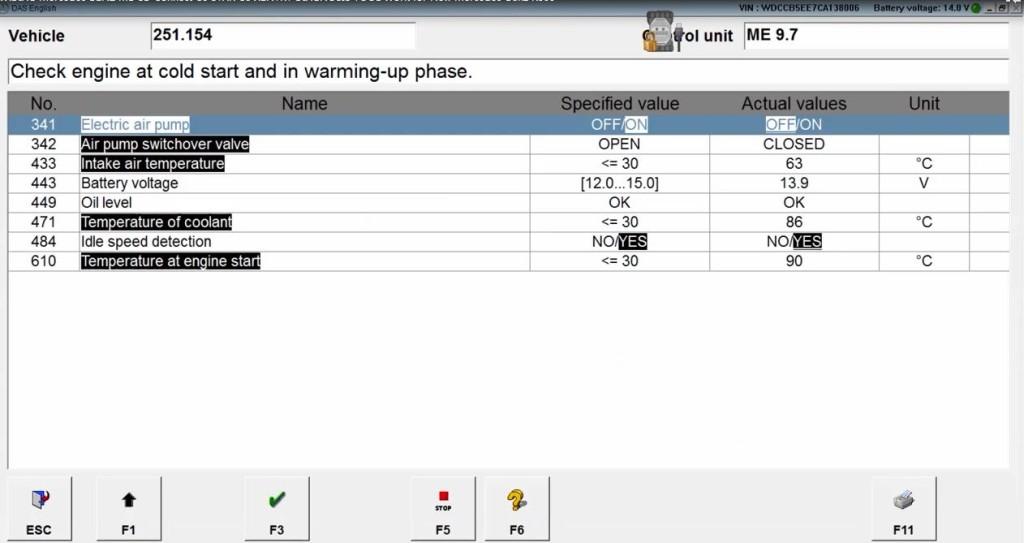 vxdiag-benz-c6-xentry-test-on-mercedes-benz-w251-r300-8