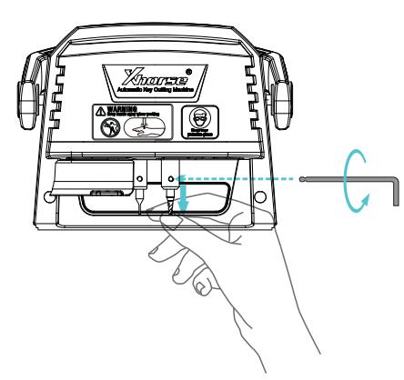 xhorse-condor-dolphin-xp005-cutter-probe-clamp-installation-3