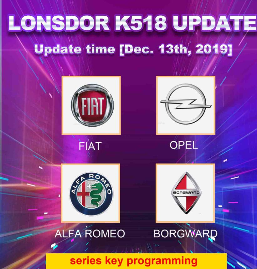 K518 UPDATE