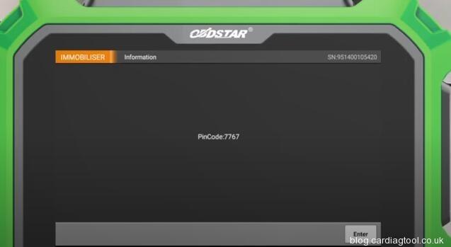 obdstar-x300-pad2-read-pincode-opel-12