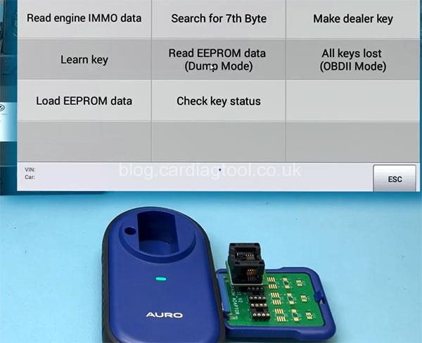 autel-im508-add-key-2010-2013-bentley-dump-mode-4