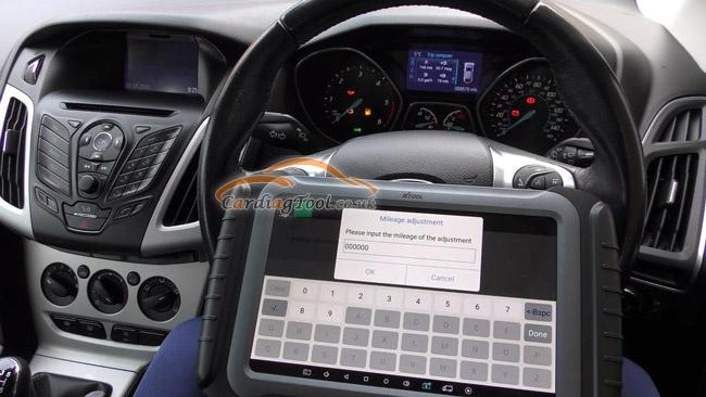 xtool-x100pad3-ford-vehicle-mileage-correction-adjustment-10