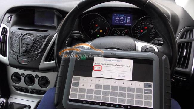 xtool-x100pad3-ford-vehicle-mileage-correction-adjustment-11