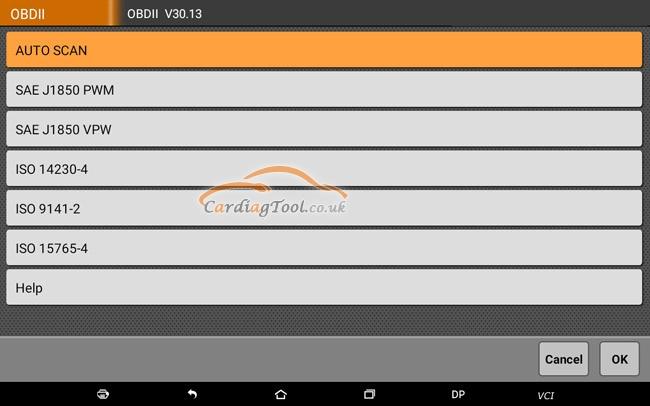 obdstar-x300-dp-plus-performs-full-system-diagnosis-test-tutorial-5