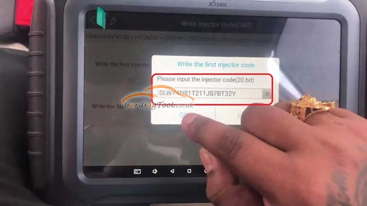 how-to-use-xtool-a80-pro-to-perform-injector-coding-for-hyundai-xcent-7