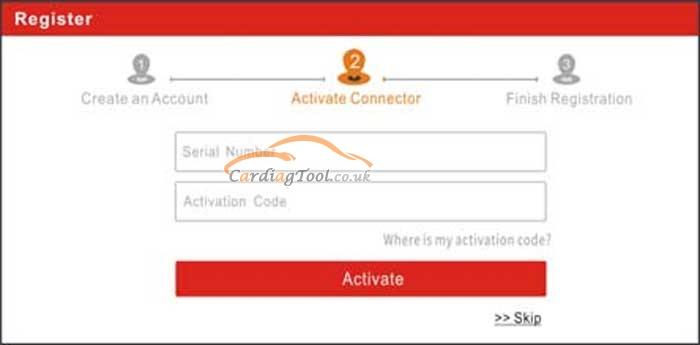 launch-x431-v+-pro3-user-registration-vci-activation-diagnostic-software-download-tutorial-4