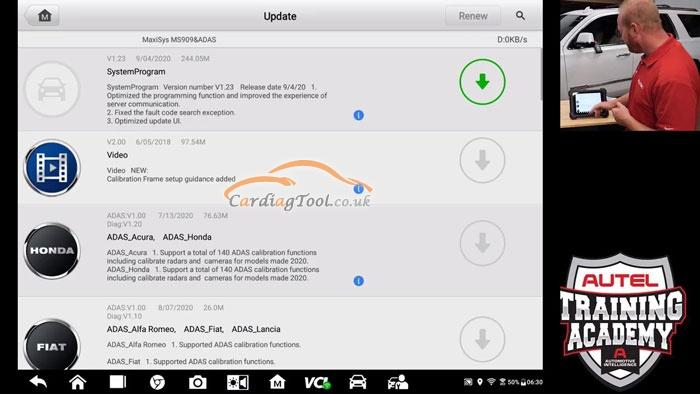 method-for-autel-maxisys-elite-diagnostic-scanner-adas-upgrade-installation-10