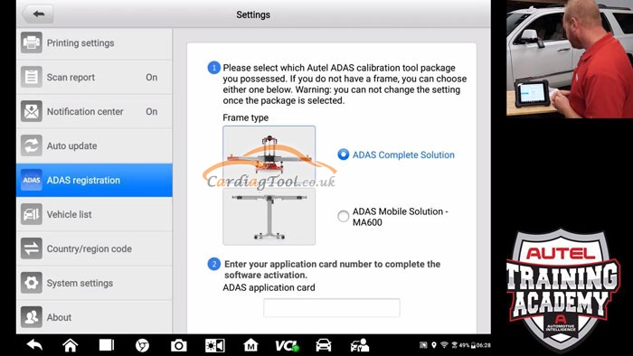 method-for-autel-maxisys-elite-diagnostic-scanner-adas-upgrade-installation-4